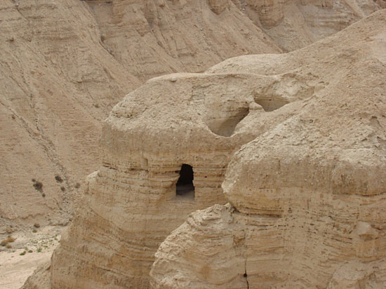 David and Jesus may have prayed in this cave in the desert of Israel